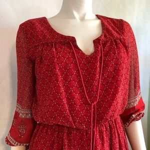 Lilly Star Red Dress